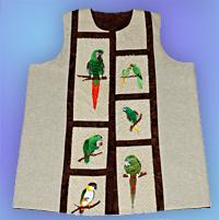 Parrot vest